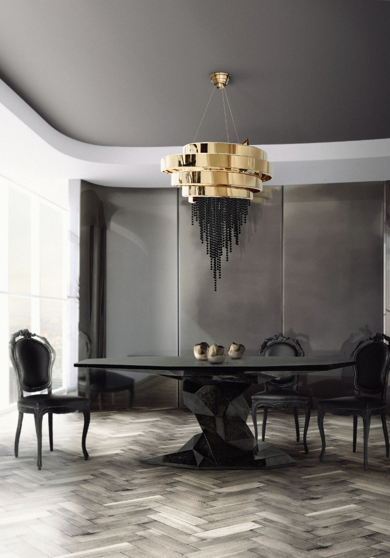 imm cologne IMM Cologne 2019 – The First Luxury Furniture and Interior Design Show Bonsai Dining Table by Boca do Lobo 1