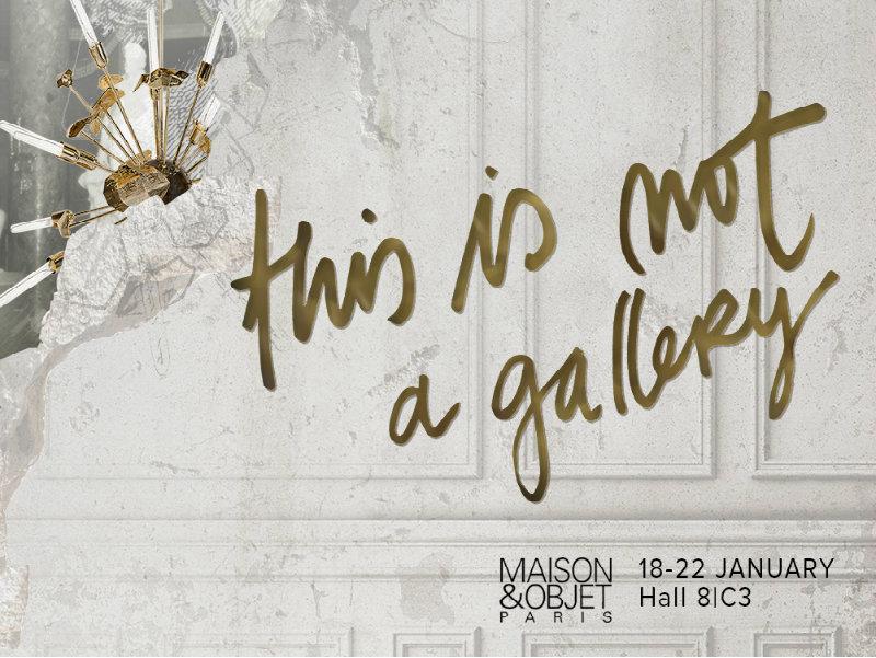 """maison et objet """"This is Not A Gallery"""" Boca do Lobo's Concept for Maison et Objet'19 featured"""