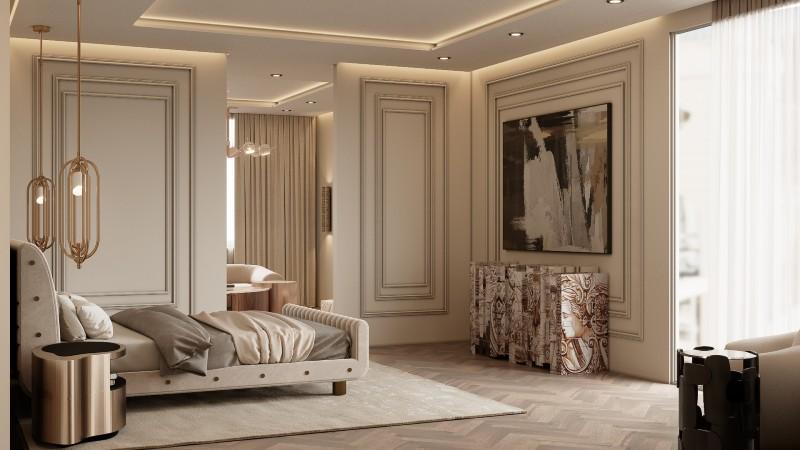 monaco penthouse An Exclusive Contemporary Modern Multimillionaire Monaco Penthouse MasterBedroom 01